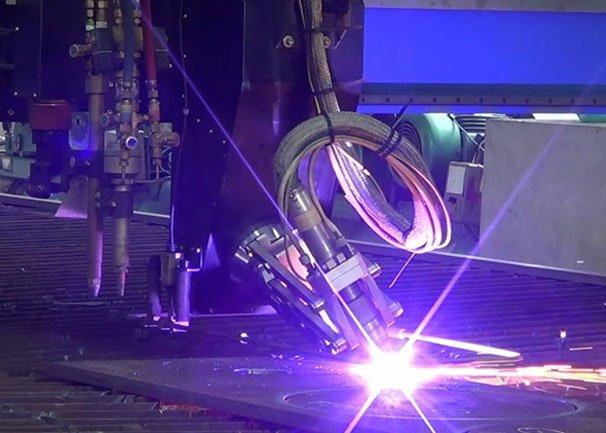 Plasma Cut Steel & Other Metals
